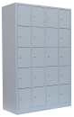 Locker cabinet 300 mm per compartment / 4 compartments / 20 compartments